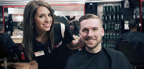 Sport Clips Haircuts of Kennedale​ stylist hair cut